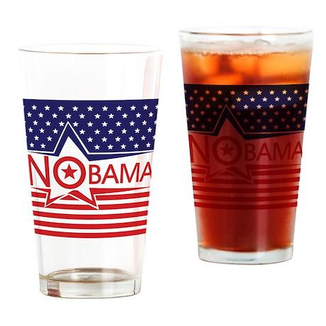 Just Say Nobama! Drinking Glass