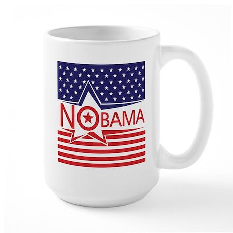 Just Say Nobama! Large Mug