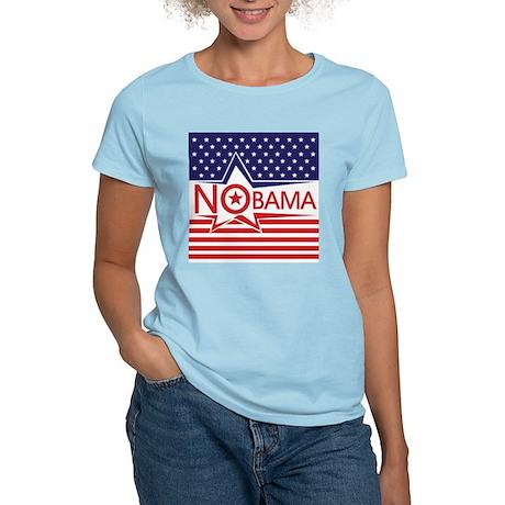 Just Say Nobama! Women's Light T-Shirt