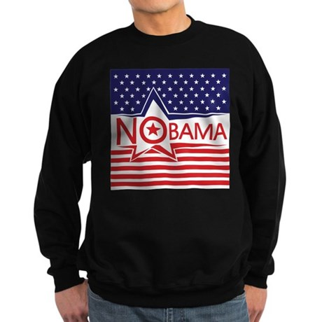 Just Say Nobama! Sweatshirt (dark)