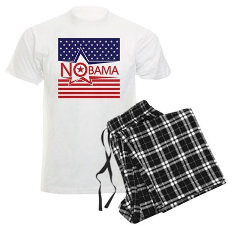 Just Say Nobama! Men's Light Pajamas