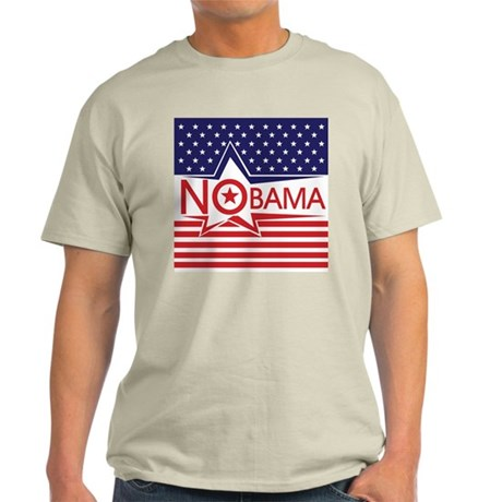 Just Say Nobama! Light T-Shirt