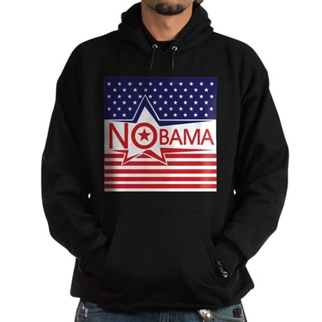 Just Say Nobama! Hoodie (dark)