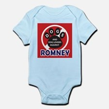 Dogs hate Romney! Infant Bodysuit