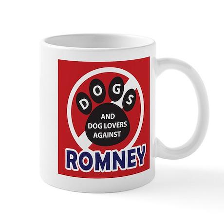 Dogs hate Romney! Mug