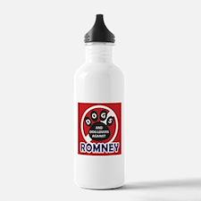 Dogs hate Romney! Water Bottle