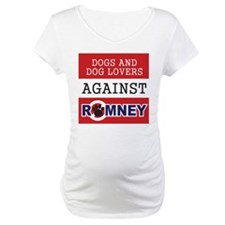 Dog Lovers Unite Against Romney! Shirt