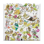 SLUG QUEEN 30th Anniversary Tile Coaster