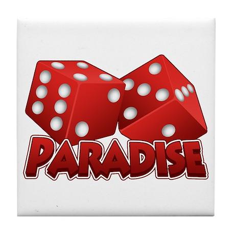 Paradise Tile Coaster