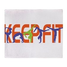 Keep Fit Throw Blanket