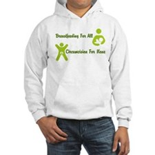 Breastfeeding and Circumcison Hoodie