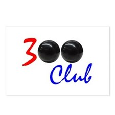 Exclusive: 300 Bowler Club! Postcards (Package of