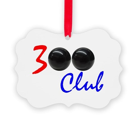Exclusive: 300 Bowler Club! Picture Ornament