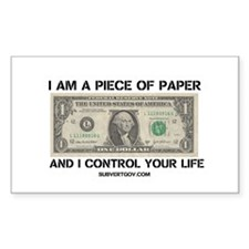 I Am a Piece of Paper Decal