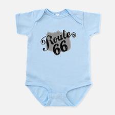 Route 66 Weatherboard Infant Bodysuit