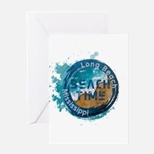 Mississippi - Long Beach Greeting Cards