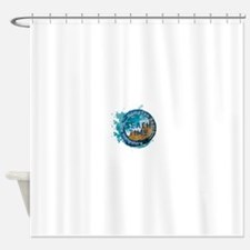 New Hampshire - Hampton Beach Shower Curtain