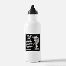 Laurent Dress Quote 2 Water Bottle