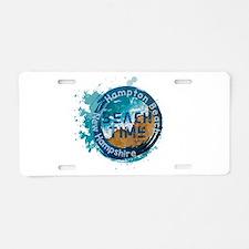 New Hampshire - Hampton Bea Aluminum License Plate