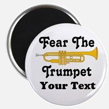 Funny Personalized Trumpet Magnet
