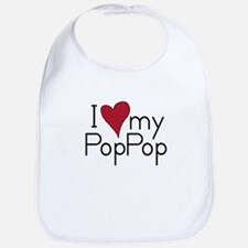 I Love my PopPop Bib