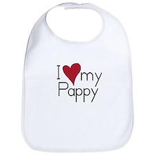 I Love my Pappy Bib