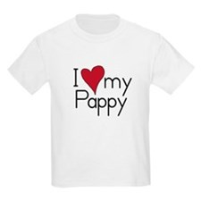 I Love my Pappy Kids T-Shirt