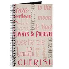 Vintage Chick Always Forever Journal