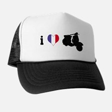 iheartvespa.com France Trucker Hat