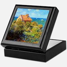 Claude Monet Fisherman's Cottage Keepsake Box