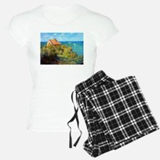 Claude Monet Fisherman's Cottage Pajamas