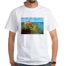 Claude Monet Fisherman's Cottage Shirt