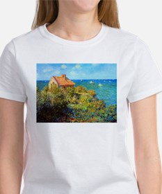 Claude Monet Fisherman's Cottage Women's T-Shirt