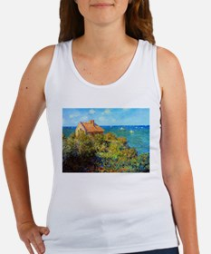 Claude Monet Fisherman's Cottage Women's Tank Top
