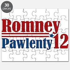 Romney Pawlenty 2012 Puzzle
