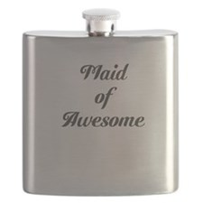 Maid of Awesome Flask