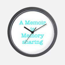 A Memoir is Memory Sharing Wall Clock