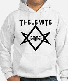 Thelemite - Love Is The Law Occult T-shirt Hoodie