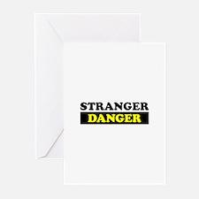 Stranger Danger Greeting Cards (Pk of 20)