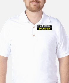 Stranger Danger Golf Shirt