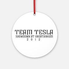 Official Team Tesla Showdown at Unobtainium Shirt!