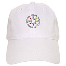 pediatric nurses circle WITH KIDS.PNG Baseball Cap