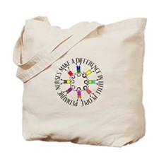 pediatric nurses circle WITH KIDS.PNG Tote Bag