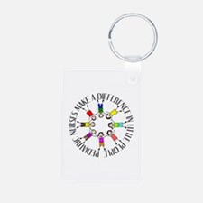 pediatric nurses circle WITH KIDS.PNG Keychains