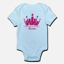 Fantasy Football Queen Infant Bodysuit