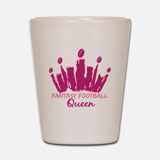Fantasy Football Queen Shot Glass