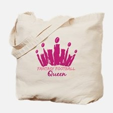 Fantasy Football Queen Tote Bag