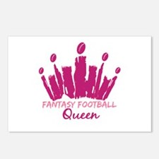 Fantasy Football Queen Postcards (Package of 8)