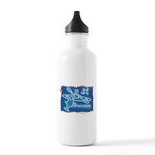 Funny Alaska eagle Water Bottle