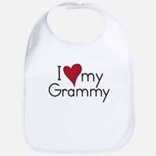 I Love my Grammy Bib
